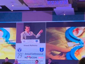 Video talk on penile implants by Dr Vineet Malhotra at national urology conference